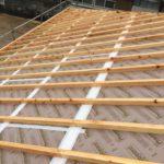 屋根・外張断熱施工
