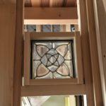 ステンドグラス(高気密・高断熱・バリアフリーの木の家)