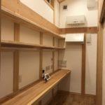 スタディコーナー(高気密・高断熱・バリアフリーの木の家)