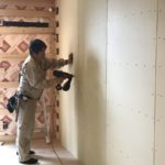 室内の断熱材付加工事