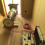 自社で気密測定を始めました!